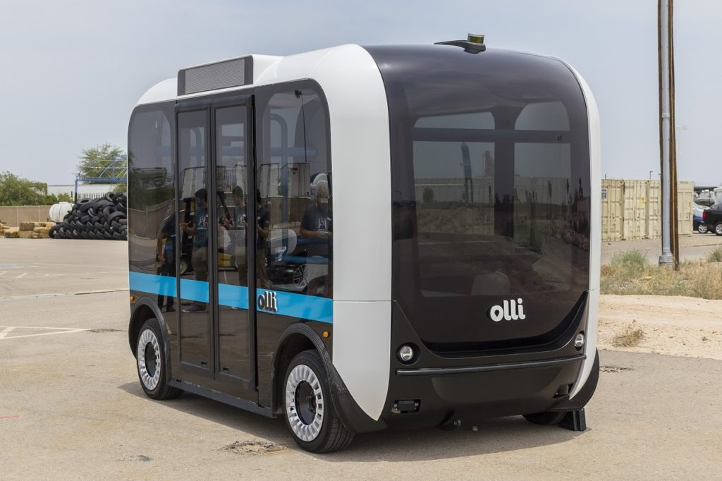 В парижском аэропорте появятся автономные автобусы