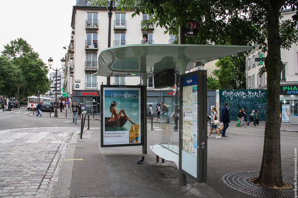 В Париже автобусы ночью будут работать по-новому