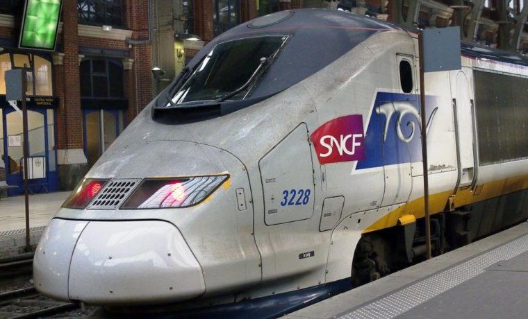 TGV at Gare de Lille Flandres